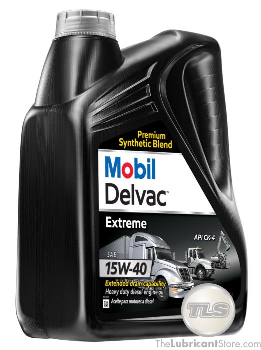 Mobil Delvac Extreme 15W40 (Case of 4 - 1 Gal  Containers)