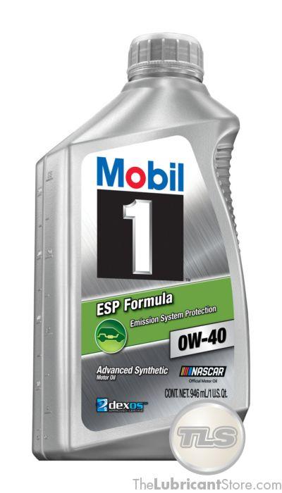 Kända Mobil 1 ESP Formula 0w-40 (Case - 6 Quarts) UU-62