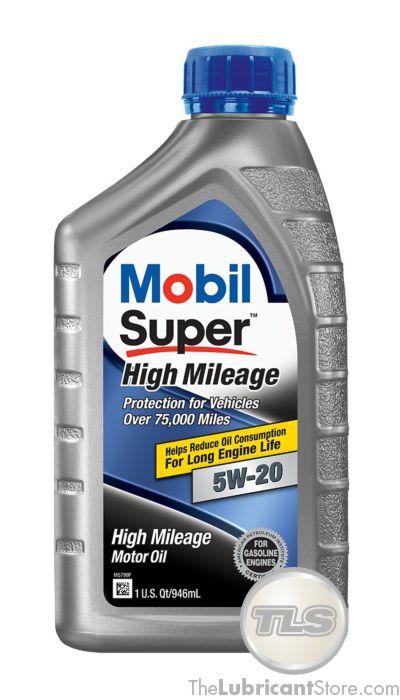 Mobil Super High Mileage 5w20 (Case - 6 Quarts)