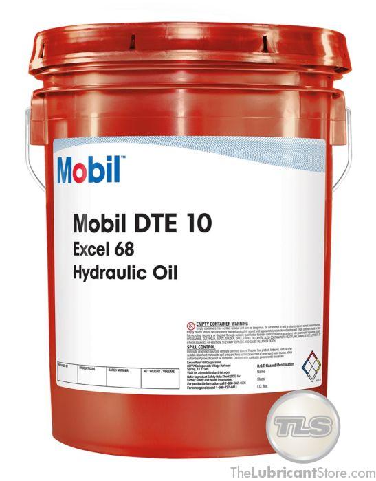 Mobil DTE 10 Excel 68 (5 Gal  Pail)