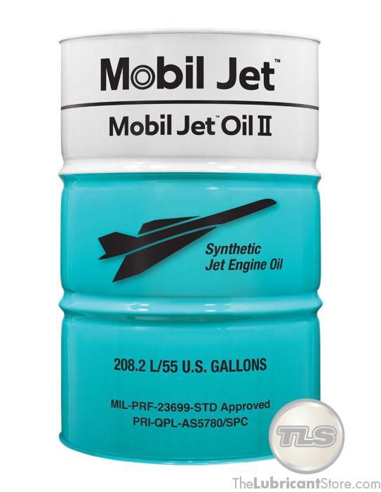 Mobil Jet Oil II 55 Gal Drum