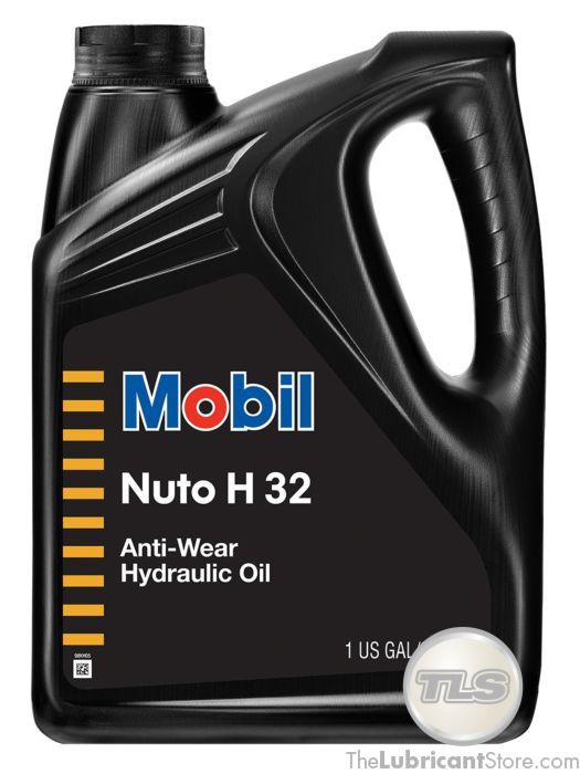 Mobil Nuto H 32 (Case of 4 - 1 Gal  Containers)