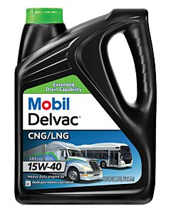 Mobil Delvac CNG/LNG 15w-40 (Case of 4 - 1 Gal. Containers)