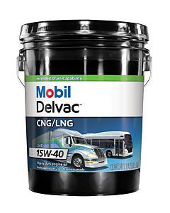 Mobil Delvac CNG/LNG 15w-40 (5 Gal. Pail)