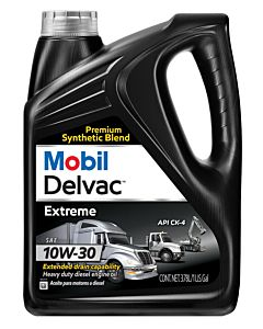 Mobil Delvac Extreme 10W30 (Case of 4 - 1 Gal. Containers)