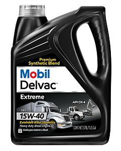 Mobil Delvac Extreme 15W40 (Case of 4 - 1 Gal. Containers)