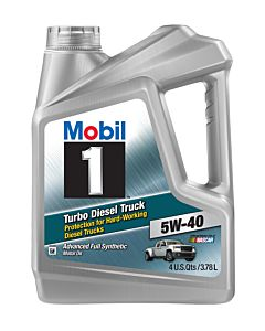Mobil 1 Turbo Diesel Truck 5w-40 (Case of 3 - 1 Gal. Containers)