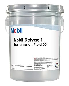 Mobil Delvac Synthetic Transmission Fluid 50 Pail b