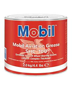 Mobil Aviation Grease SHC 100 (Case of 4 - 4.4 lb Cans)