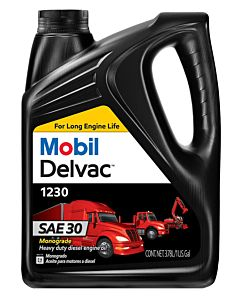 Mobil Delvac 1230 (Case of 4 - 1 Gal. Containers)