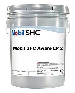 Mobil SHC Aware EP2 Grease (5 Gal. Pail)