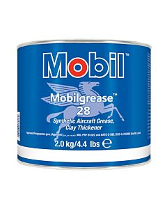Mobilgrease 28 (Case of 4 - 4.4 lb Cans)