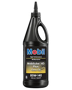 Mobilube HD Plus 85W140 (Case - 12 Quarts)