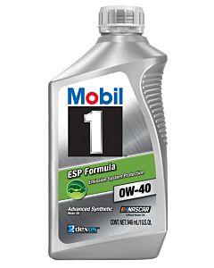 Mobil 1 ESP Formula 0w-40 (Case - 6 Quarts)