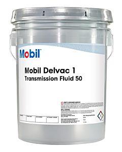 Mobil Delvac Synthetic Transmission Fluid 50 Pail b