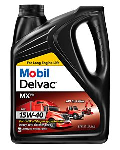Mobil Delvac MX F2 15W-40 (Case of 4 - 1 Gal. Containers)
