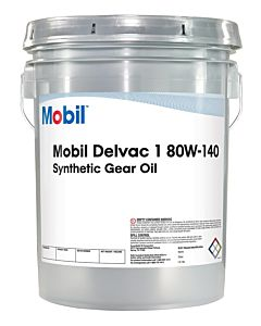 Mobil Delvac 1 Gear Oil 80w140 (5 Gal. Pail)