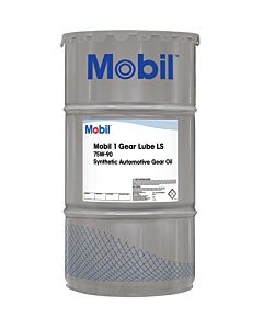Mobil 1 Synthetic Gear Lube LS 75W-90 (16 Gal. Keg)